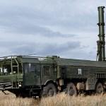 Iskander-K launcher
