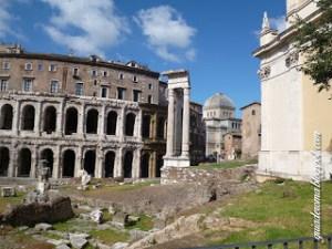 Attenzione a non confondere il Colosseo con il Teatro di Marcello!