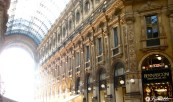 Illumination of Duomo Milan, Italy