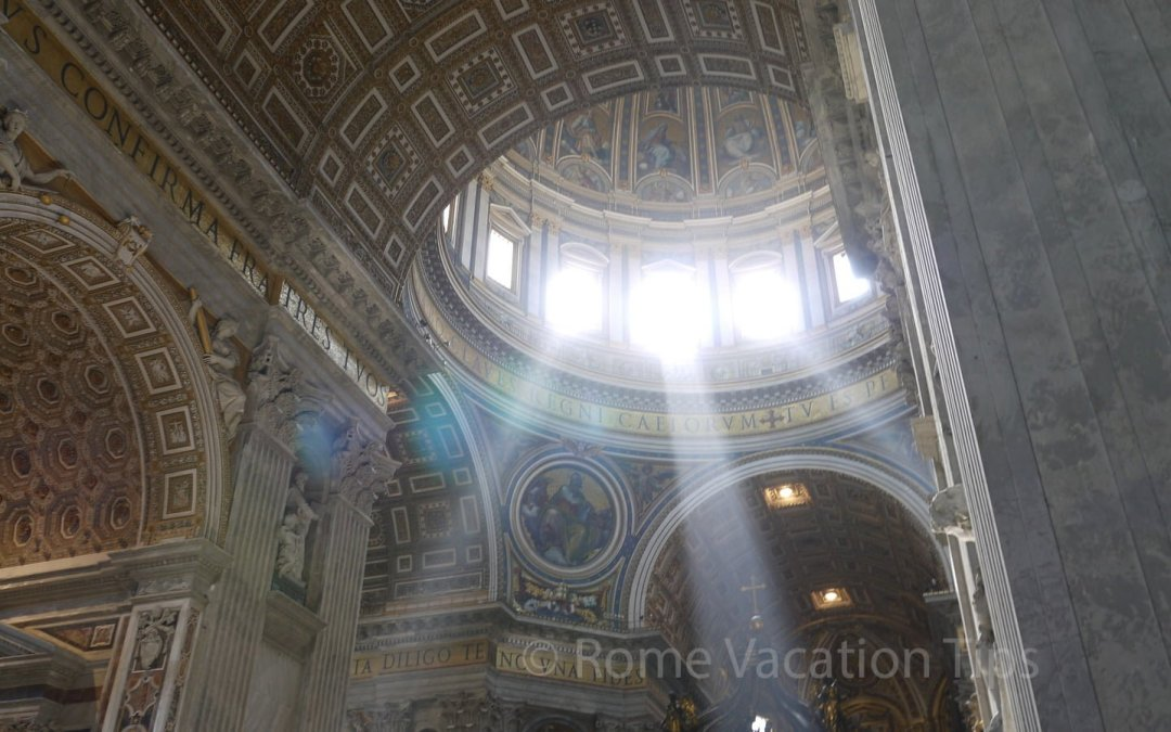 What's the difference between St. Peter's Basilica, the Sistine Chapel, and the Vatican?