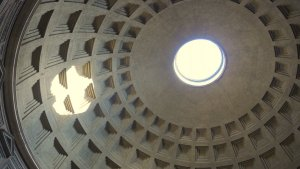 Pantheon roof and oculus - skip the lines - Rome Vacation Tips