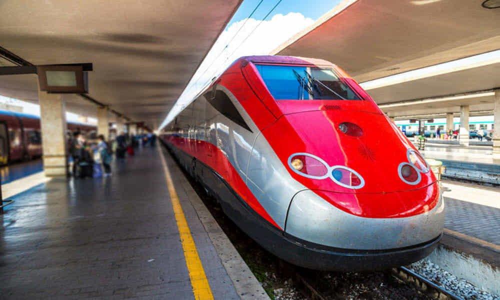 How do I book train tickets around Italy?