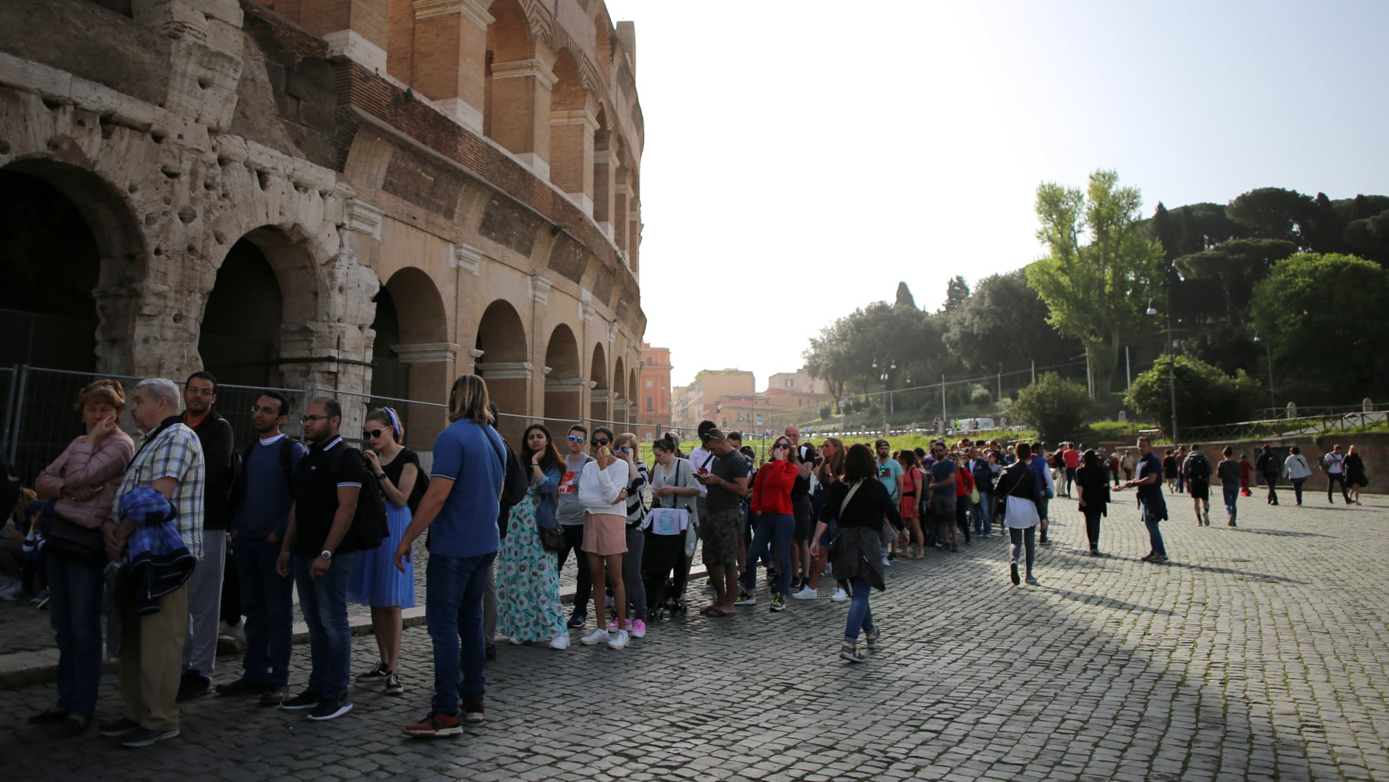 How to skip the lines at the Colosseum