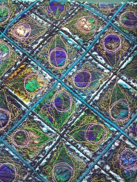 Machine Embroidery piece