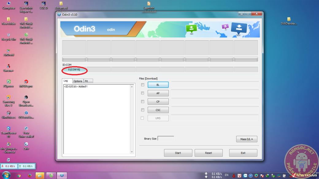 Tổng hợp Samsung Odin 3.12.3 Mới Nhất Hỗ Trợ Android 8.0 LZ4