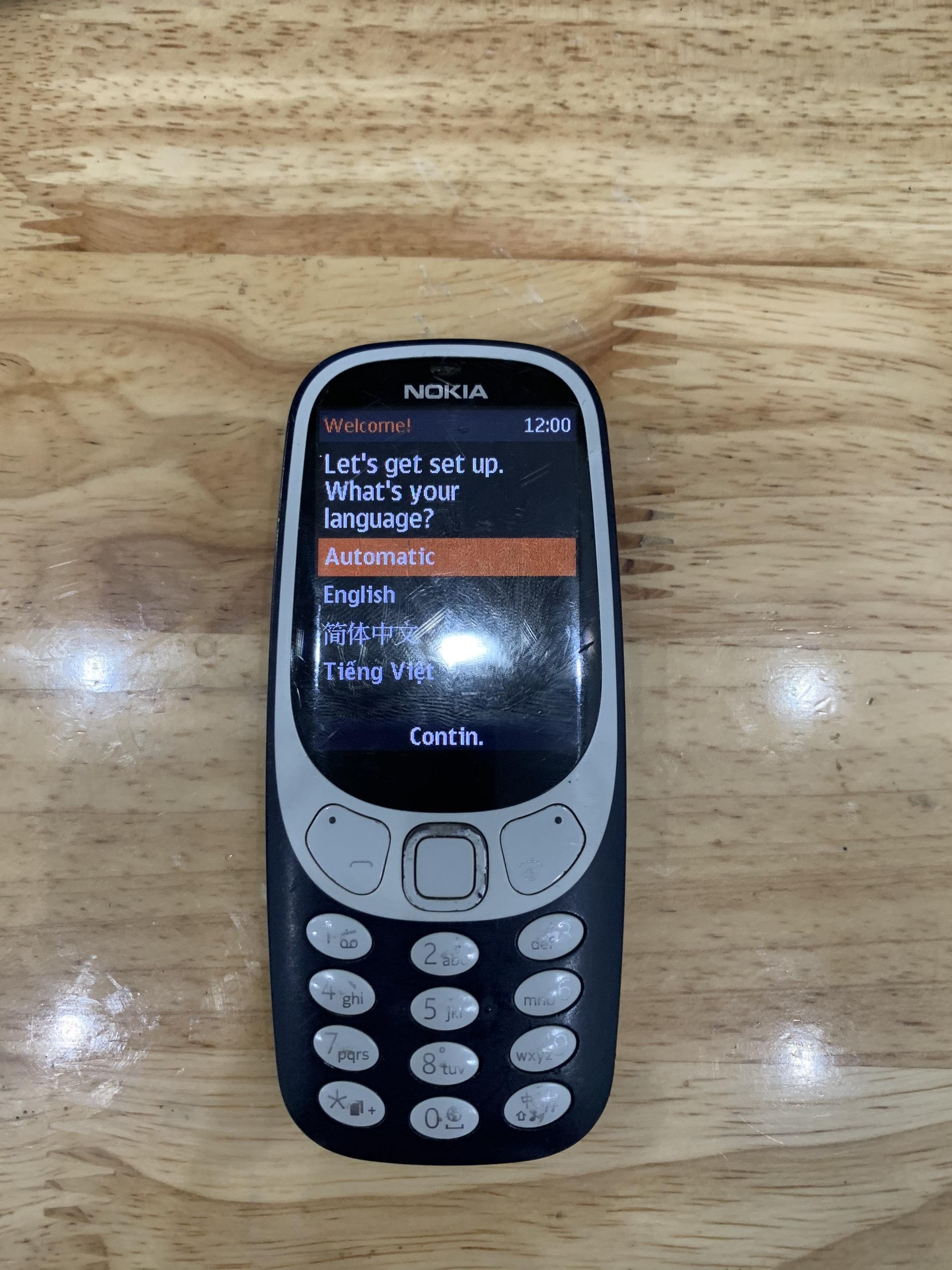 Rom Nokia 3310 TA-1030 Tiếng Việt