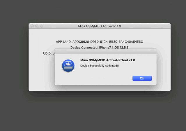 Mina GSM/MEID Activator Tool V1.0