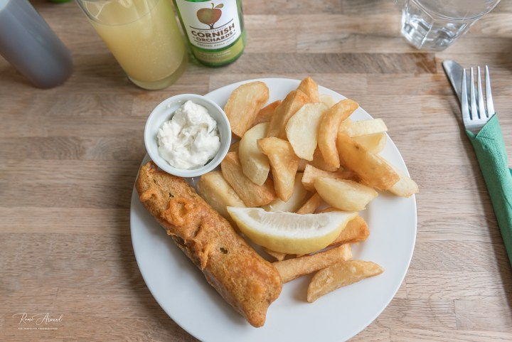 Banana Blossom Fish and Chips Cornish Vegan Cornwall Restaurant