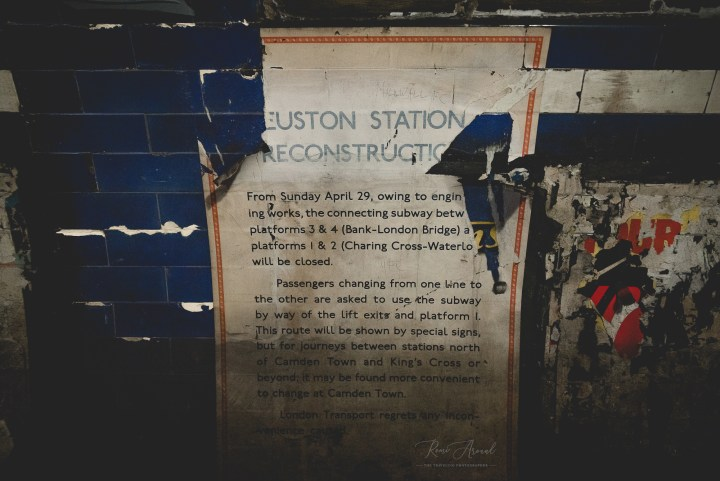 London Euston Hidden Tunnels Tour