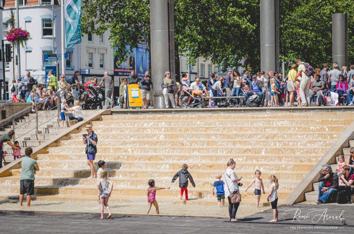 The iconic Cascade steps
