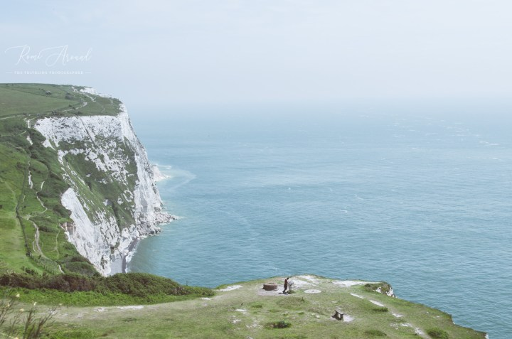 The White Cliffs of Dover from Above
