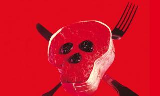 carne veleno nel piatto