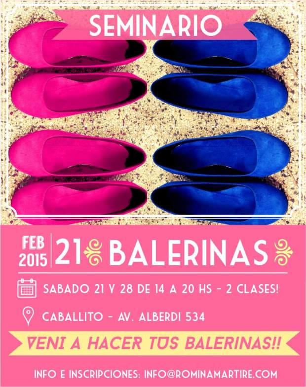 Seminario Balerinas