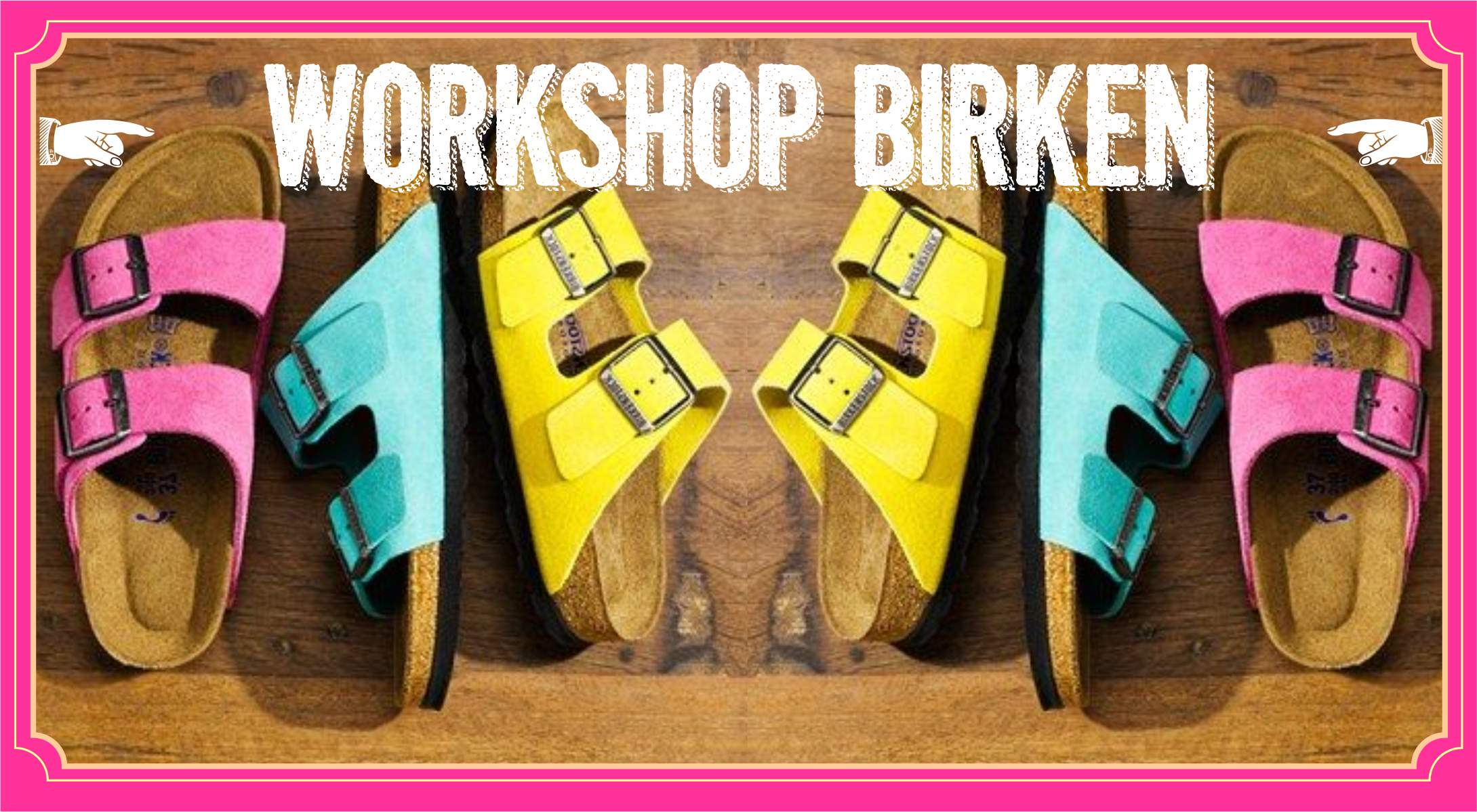 Workshop Sandalias Martire Cursos BirkenRo Sandalias BirkenRo Workshop Martire wkOPiTXZu
