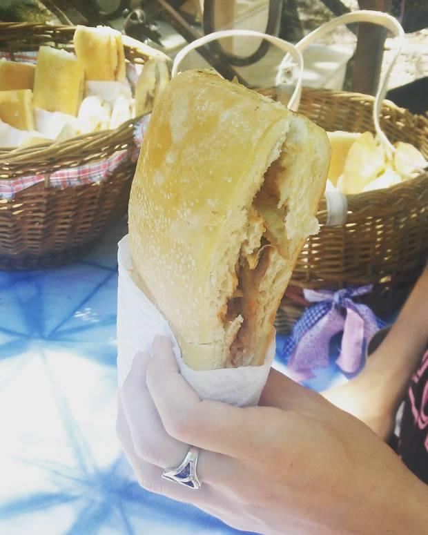 sándwich cocinero personal