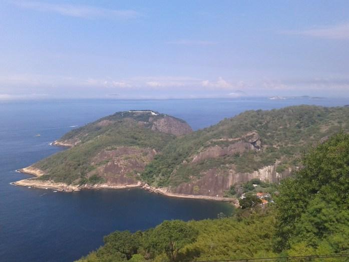 Vistas desde el Pan de Azúcar, Rio de Janeiro, Brasil, 2014