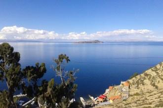 Vista panorámica desde Isla del Sol, Bolivia, 2014 | rominitaviajera.com