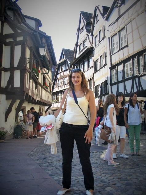 @rominitaviajera en Estrasburgo, Francia, Julio 2008 - viajarcaminando.org