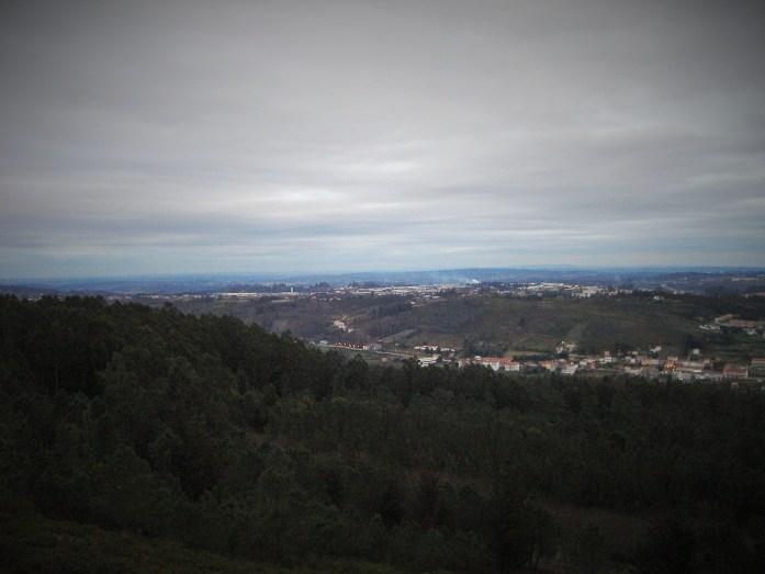 Vistas desde el Monte Pedroso, Santiago de Compostela, Galicia, España, 2008