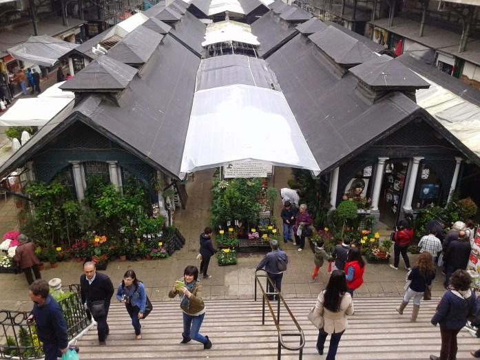 Mercado de Bolhao, Oporto, Portugal, 2014