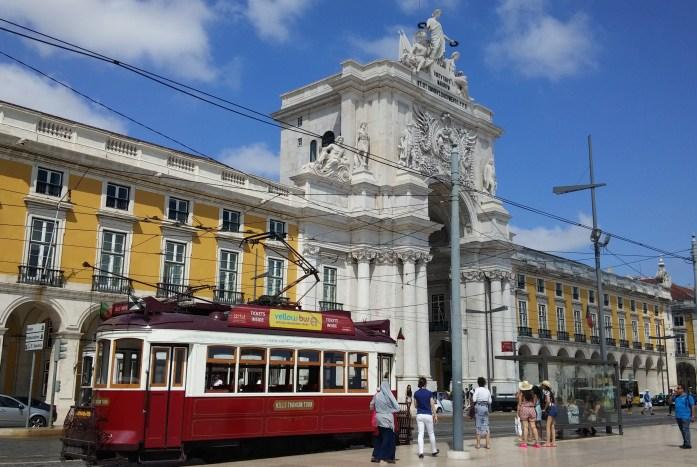 Plaza del Comercio, Lisboa, Portugal, 2015
