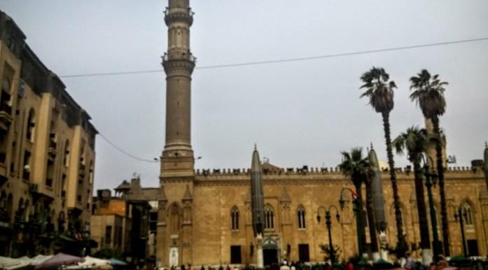 Mezquita de Hussein, El Cairo, Egipto, África, marzo 2016 | viajarcaminando.org