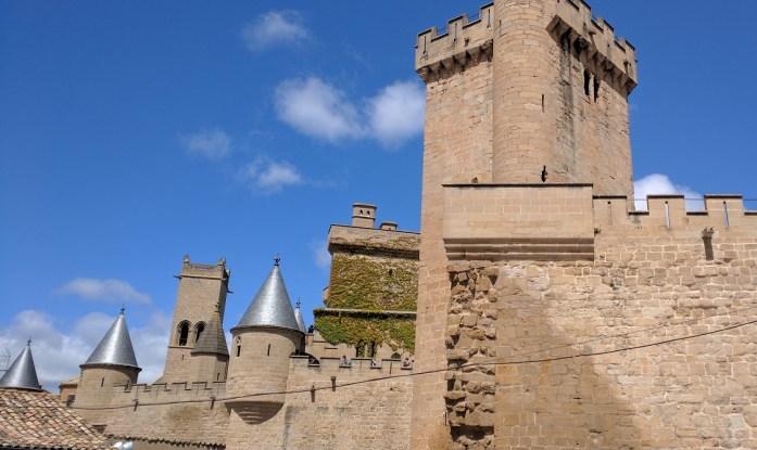 Palacio Real de Navarra, Olite, Navarra, España, abril 2016 | viajarcaminando.org