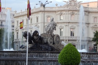 Plaza de Cibeles, Madrid, España, 2013 | rominitaviajera.com