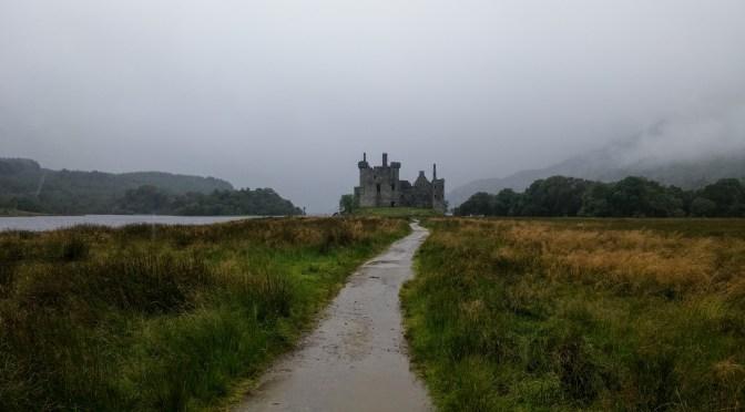 Castillo de Kilchurn, Escocia, agosto 2016 | viajarcaminando.org