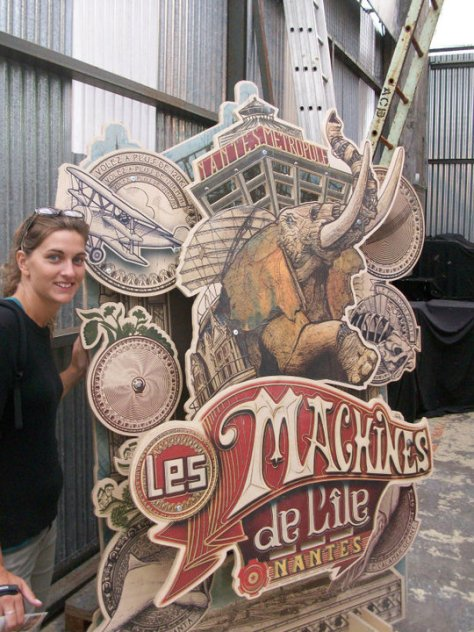 @rominitaviajera en le Ile de Nantes, Francia, 2010