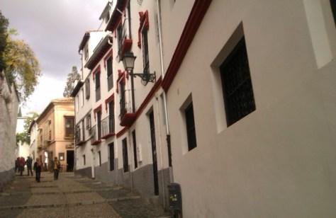 Cuesta San Gregorio, Barrio Albaicín, Granada, 2010