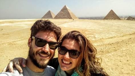Cumpliendo un sueño: conocer las pirámides de Giza, Egipto, marzo 2016