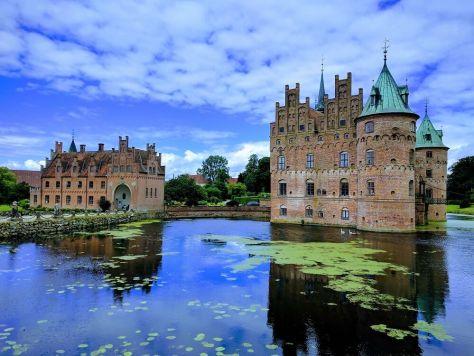 Ekesgov Castillo y Jardines, región al sur de Odense, Dinamarca, 2017, rominitaviajera.com