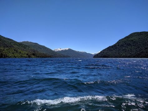 Lago Hermoso, Ruta de los 7 Lagos, Argentina, Noviembre 2017