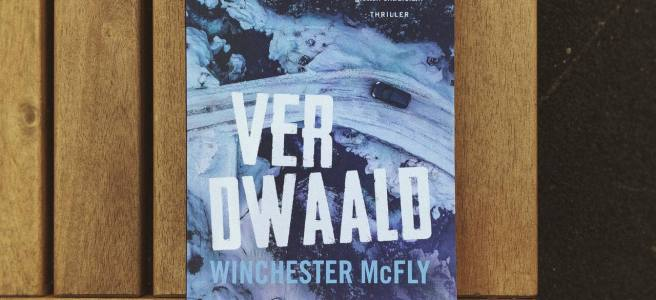 Cover Winchester McFly verdwaald op tuintafel