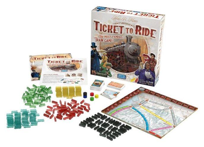 Ticket to Ride Edição de Aniversário de 15 anos