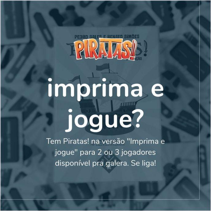 Banner Piratas print&play