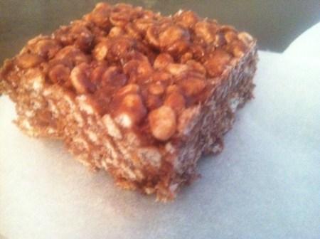 עוגיות פצפוצי אורז ושוקולד