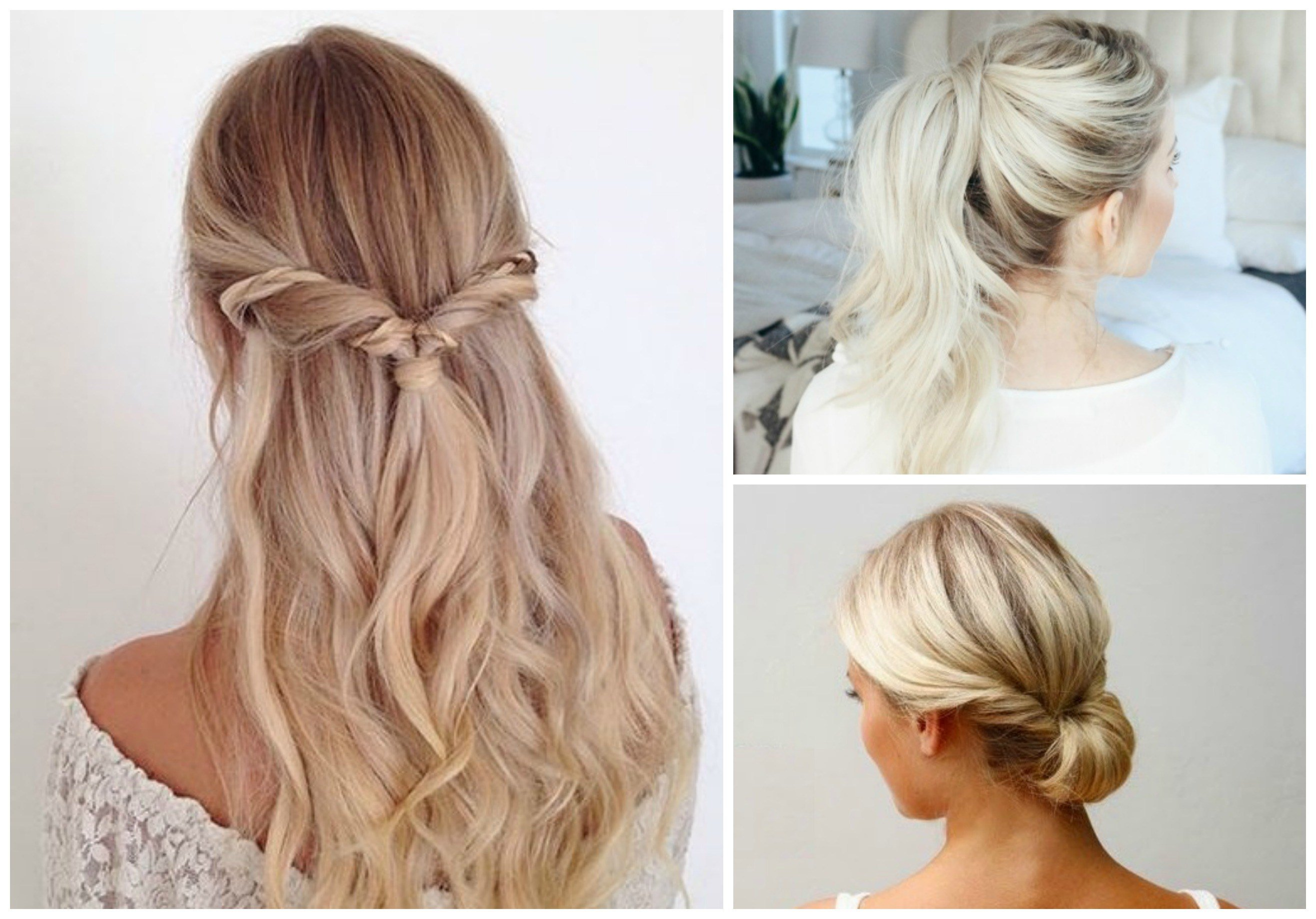 The Best 11 Super Easy Hairstyles For Everyday Life Pictures