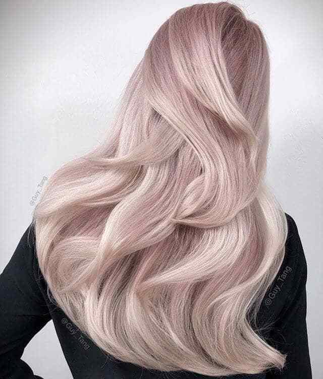 The Best 50 Irresistible Rose Gold Hair Color Looks For 2019 Pictures