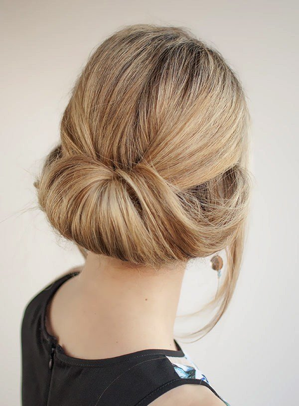 The Best Easy Updo S That You Can Wear To Work Women Hairstyles Pictures