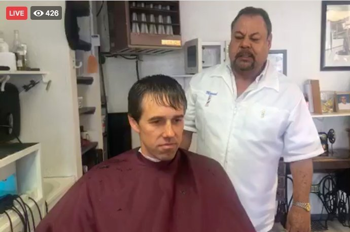 The Best Beto Streams Haircut And Massage Live One Day After Pictures