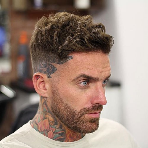 The Best 39 Best Curly Hairstyles Haircuts For Men 2019 Guide Pictures