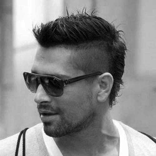The Best 30 Faux Hawk Fohawk Haircuts For Men Men S Hairstyles Pictures