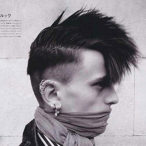 The Best 21 Punk Hairstyles For Guys Pictures