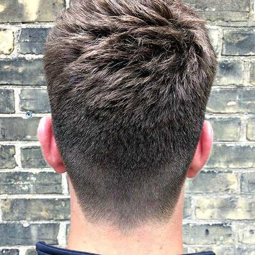 The Best Neckline Haircuts Blocked Rounded Tapered Pictures
