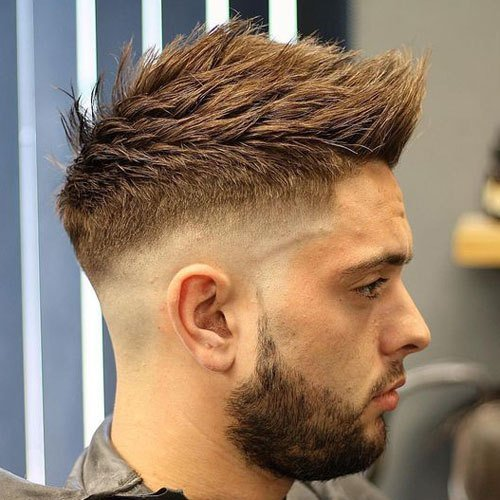 The Best 35 Best Faux Hawk Fohawk Haircuts For Men 2019 Guide Pictures