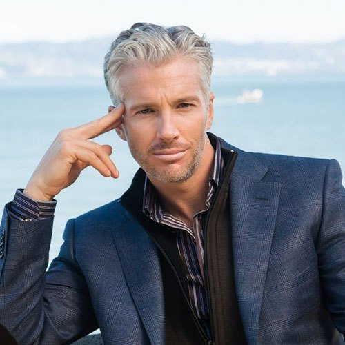 The Best 21 Best Men S Hairstyles For Silver And Grey Hair Men Pictures