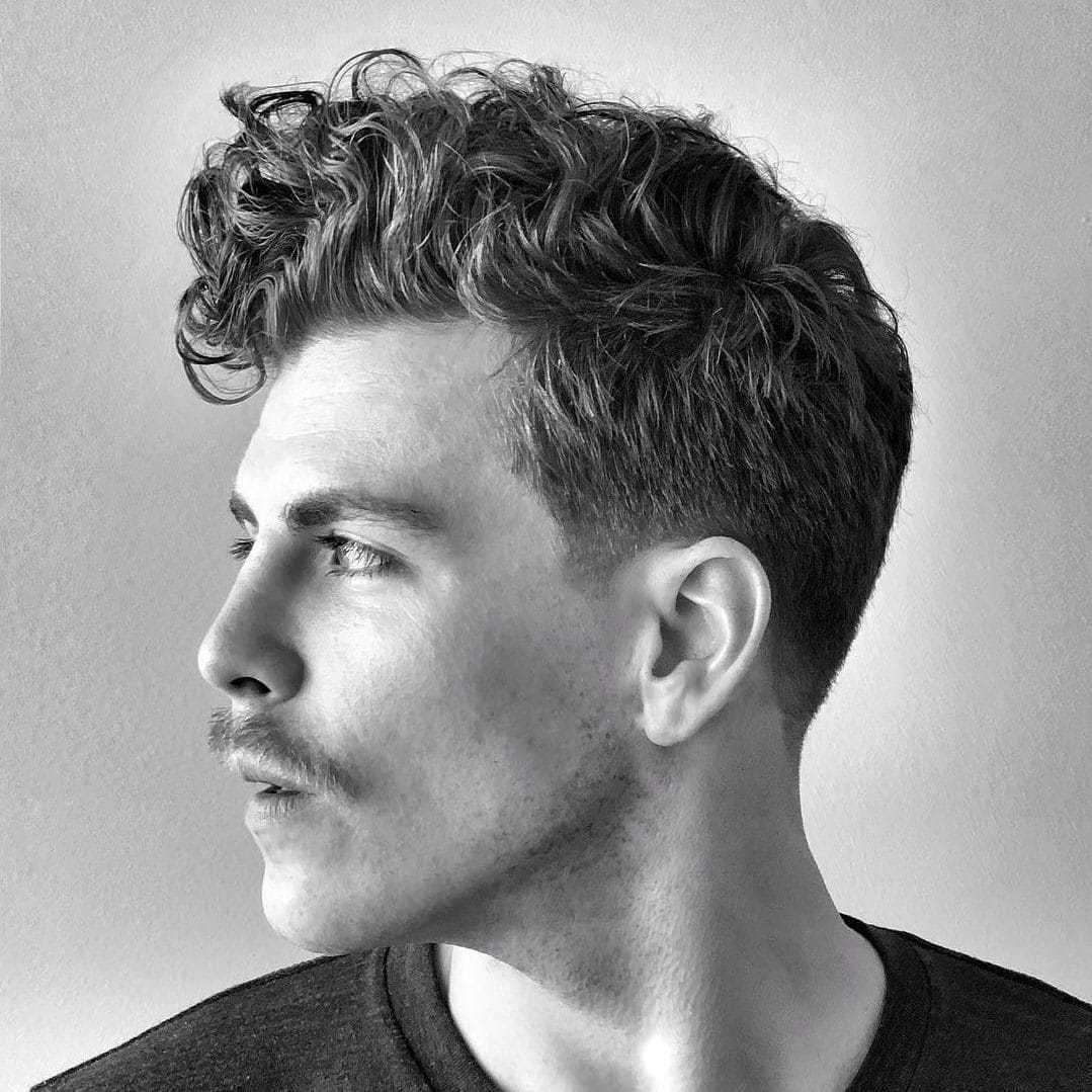 The Best Curly Hair Haircuts Hairstyles For Men 2019 Guide Pictures