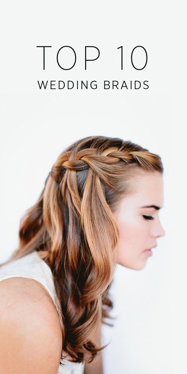 The Best Top 10 Wedding Braids Diy Weddings Oncewed Com Pictures